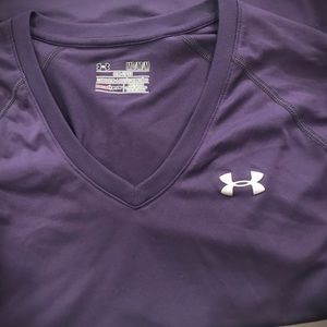 Under Armour Long Sleeve SemiFitted Heat Gear Top